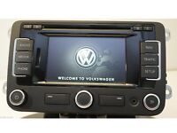 VW SAT NAV RNS 315 WITH DAB BLUETOOTH MEDIA MAP RADIO FOR ALL VW JETTA PASSAT SCIRROCO GOLF GTI GTD