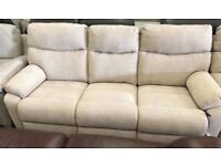 La Z Boy recliner suite, 3 and 2 seater sofas