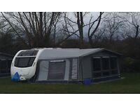 Full size caravan awning