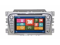 SONIC AUDIO VNS-FD (SILVER COLOUR) DVD/IPOD/BLUETOOTH/NAVIGATION/USB/SD FOR FORD FOCUS/GALAXY/MONDEO