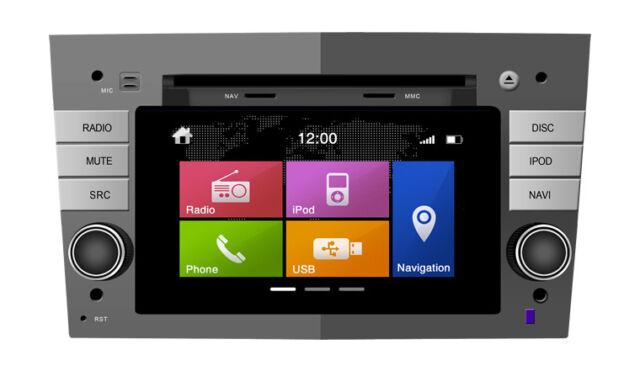 Dynavin N6-OP Touch-Screen iPod/Bluetooth/DVD/Sat-Nav/GPS/USB/SD Vauxhall Vivaro