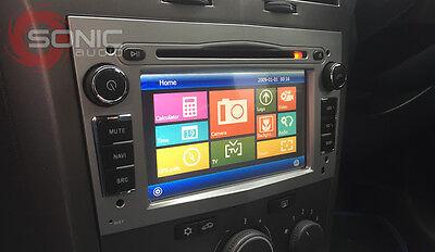 OEM-Style Silver/Grey DVD/Nav/GPS/iPod/USB/Bluetooth Vauxhall/Opel Corsa/Astra