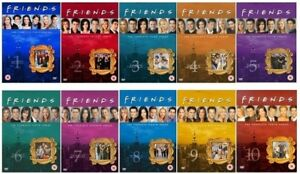 Friends Season 1 - 10 box sets plus extras $90