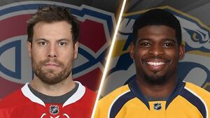 4 billet canadiens vs Nashville, mar 2 section 108, rouge,subban