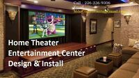 Home Theater Service - TV Wall Mounting  We Sell TV Video Access