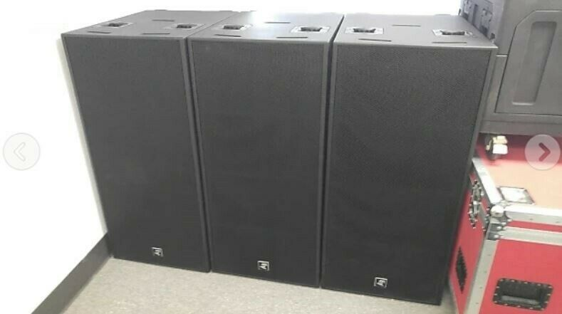 """The Electro-Voice PX2181 High Efficiency DUAL 18"""" SUBWOOFER SYSTEM Phoenix Ser"""