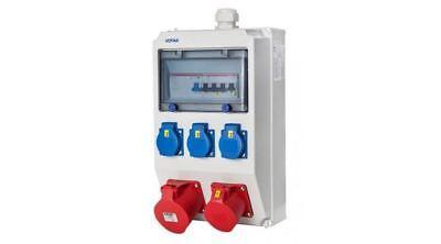 Wandverteiler Kraftstromverteiler Votha mit CEE 16/32A + FI / C16 (0631130111)