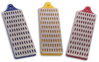 3PC DIAMOND WHETSTONE SHARPENING BLADE KNIFE STONE SET COARSE / MEDIUM / FINE