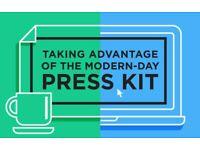 I can make a free electronic press kit