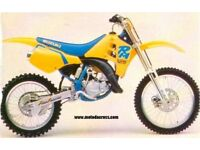 WANTED RM 125 EVO 90-92 CASH WAITING