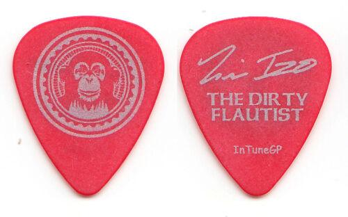 Black Eyed Peas Tim Izo Signature Red Guitar Pick - 2006 Monkey Business Tour