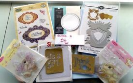 FOR SALE Spellbinders/Sizzix/Memory Box/Dies/stamps/stencils for card making/scrapbooking/crafting