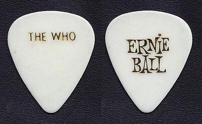 The Who Pete Townshend White Ernie Ball Guitar Pick - 2004 Tour