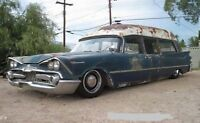 WANTED  pre 1962 hearse