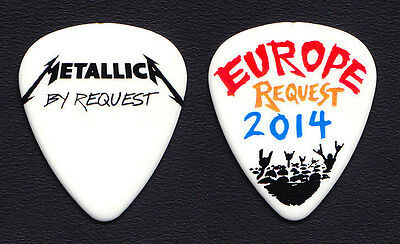 Metallica By Request Europe James Hetfield Guitar Pick - 2014 Tour
