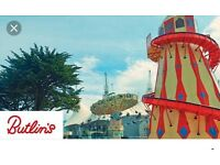 Butlins new year break 30th - 2nd