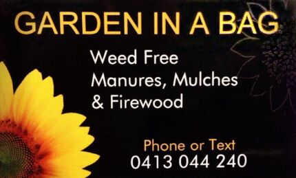 MANURES, MULCHES, COMPOST, FIREWOOD