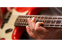 Bass guitar lessons - first one free!