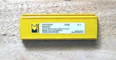 Kennametal Cnmg 190624rn Carbide Inserts Packs Of Five