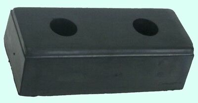 Loading Dock Bumper 4-pack 10 Long Rubber Truck Trailer Wall Boat Protection