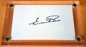 Signed VINCENT PRICE Autograph Hollywood Horror Icon PSA/DNA