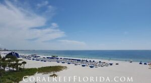 St Pete Beach Florida Direct Oceanfront Unit Great View!