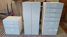 Children bedroom furniture set