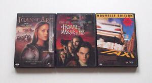 Lot de 3 films DVD