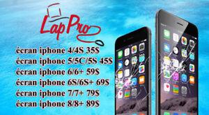 Réparation d'écran iphone 6S 69$