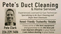 Pete's Duct Cleaning and Home Services