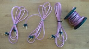 Monster Speaker Cable & Banana Connectors