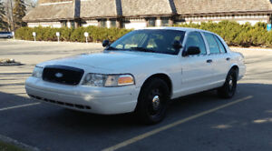 Crown Victoria Police Packaged low kms