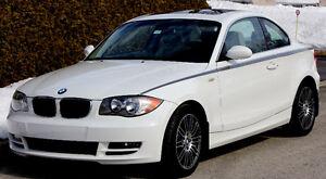 2009 BMW 128I Serie-1 Cuir beige Coupé (2 portes)