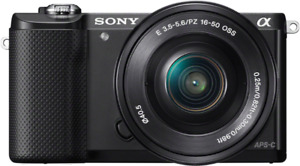 Sony Alpha A5000 (Very Gently Used) - with extras