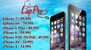 Grande Spécial--  écran iphone 6 Seulement  59$