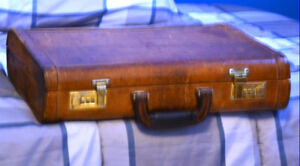 Classic Leather Briefcase for sale.