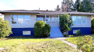Full side-by-side duplex on a quiet street in South Burnaby