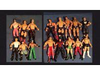 WWE figures wrestling WWF