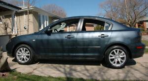2008 Mazda 3 sedan with sunroof
