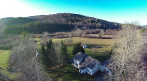 3 Bdrm Country Home w/ 7+ acres, riverfront, views only $275,000