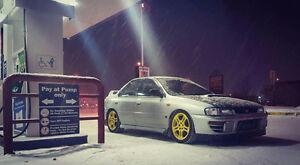 1997 Subaru Impreza WRX STi Sedan trade