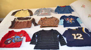 Fall / Winter long sleeved shirts for boys, size 2, $1.00 each