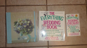Wedding books (The Everything Book, The Bride's Book)