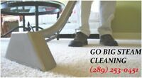 GB STEAM CLEANING 30 EXPERIENCE 100% SERVICE GUARANTEE