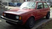 1984 Volkswagen Rabbit Diesel