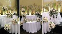 FLORIST,wedding décor,decoration,centerpieces,fresh&silk RENTAL