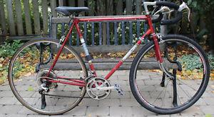 """Raleigh Grand Prix Road Bike 60cm 23.5"""" Vintage 10 Speed"""