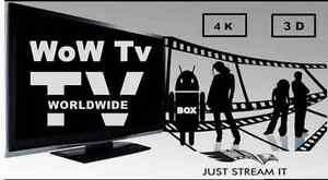 WoW IPTV & Android Box (Roku or Android device)