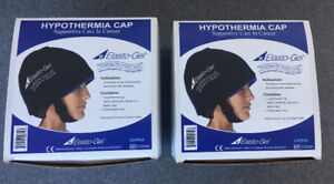 2 Elasto-Gel Hypothermia Cooling Cap/Cold Cap for Hair Loss