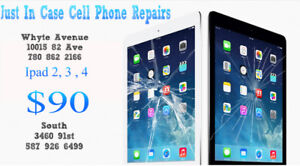 IPAD 2/3/4 MINI AIR 1/2 IPHONE 5/6/7/8 CRACKED SCREEN REPAIR